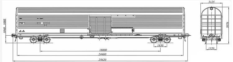 CMGV wagon model11-1709