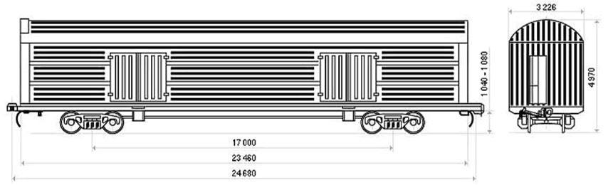 CMGV wagon model 11-9733